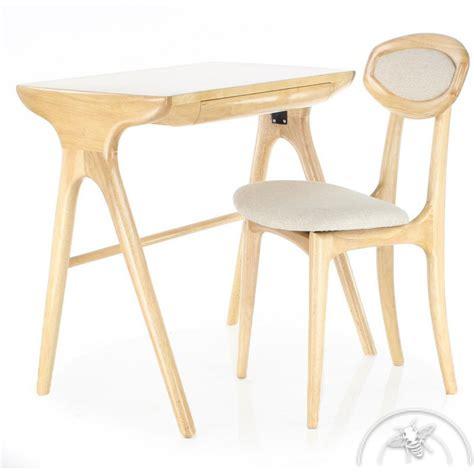 modele bureau design bureau scandinave petit modèle bois naturel lund saulaie