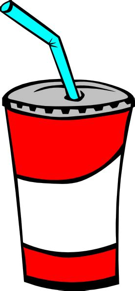 Drinks Clipart Soft Drink In A Cup Clip At Clker Vector Clip