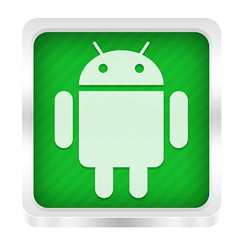 android app icon android icon boxed metal icons softicons