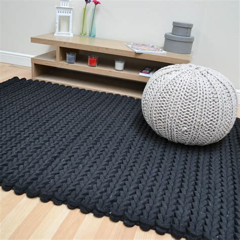 felted wool rug helix felted wool braid rugs in charcoal free uk