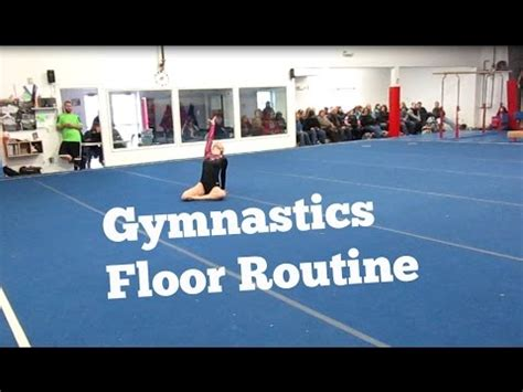 Usag Level 2 Floor Routine 2015 by Xcel Gold Gymnastics Floor Routine