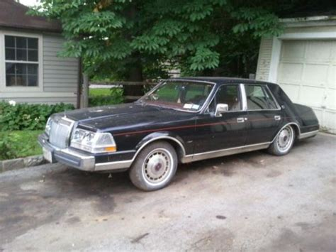 how to sell used cars 1985 lincoln continental navigation system buy used 1985 lincoln continental only21k in white plains new york united states for us 6 800 00