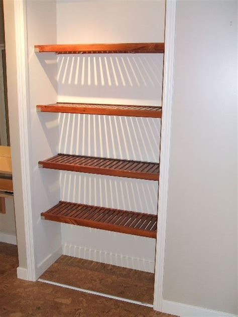 Linen Closet Shelving Systems by 13 Best Shelves Images On Building Closet
