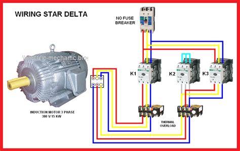 Star Delta Motor Connection Diagram Elec Eng World Art