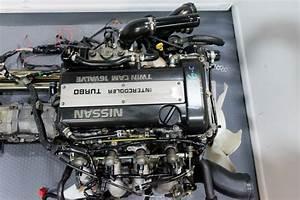 Sr20det Blacktop Engine With 5mt Transmission For Sale For