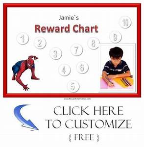 Iron Man Sticker Chart Personalized Reward Charts For Boys