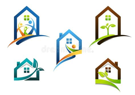 House, Real Estate, Home, Logo, Apartment Building Icons ...