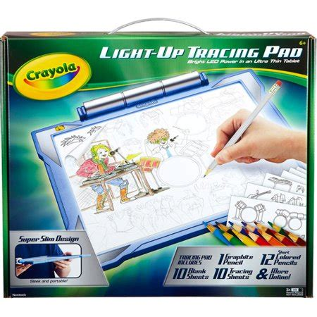 crayola light up tracing pad crayola light up tracing pad kit walmart
