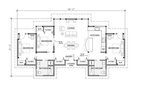 House Plan Single Story With 3bedrooms November 2019
