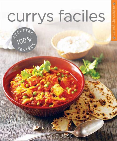 librairie cuisine livre currys faciles carla bardi larousse carnets de