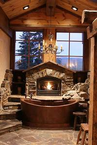 15, Awesome, Rustic, Bathroom, Decoration, Ideas, For, Your, Home