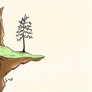 Tree+cliff by String-Bean-23 on DeviantArt