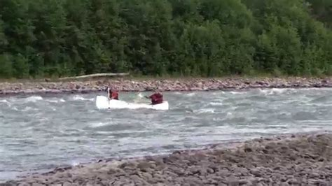 Canoes Grande Prairie by Canoeing The Chute On The Murray River In B C 2 With