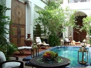 mediterranean house plans with courtyards moroccan patios courtyards ideas photos decor and