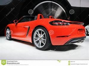 Nouvelle Voiture 2017 : nouvelle voiture de sport 2017 de porsche 718 boxster s photo stock ditorial image 68624143 ~ Medecine-chirurgie-esthetiques.com Avis de Voitures