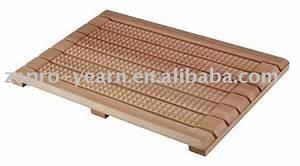 Tapis De Bain Bois : rectangle en bois tapis de bain tapis de salle de bain id du produit 363394651 ~ Melissatoandfro.com Idées de Décoration