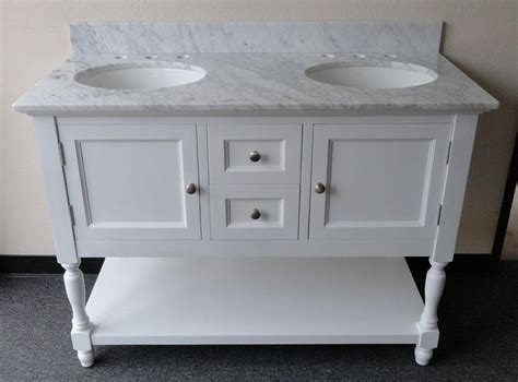 48 inch double sink vanity westwood double 48 inch usa made custom plantation style