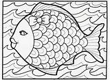 Coloring Pages Summertime Print Printable Summer Printables Doodle Fish Educational sketch template