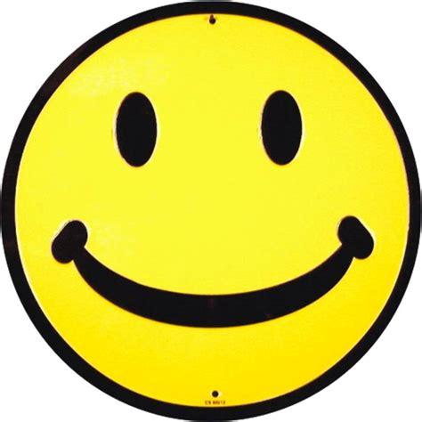 Wholesale Round Aluminum Sign - Smile