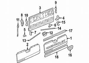Chevy Avalanche Tailgate Parts