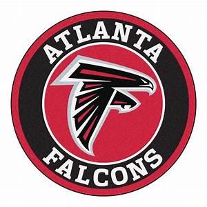 FANMATS NFL Atlanta Falcons Black 2 ft 3 in x 2 ft 3 in