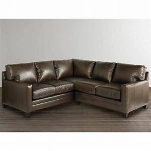 Bassett 3105 lsectls ladson small l shaped sectional for Small sectional sofa bassett