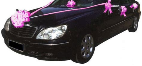 kit deco voiture mariage gifi u car 33
