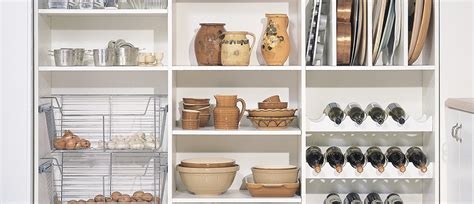 5 steps to ready pantry california closets