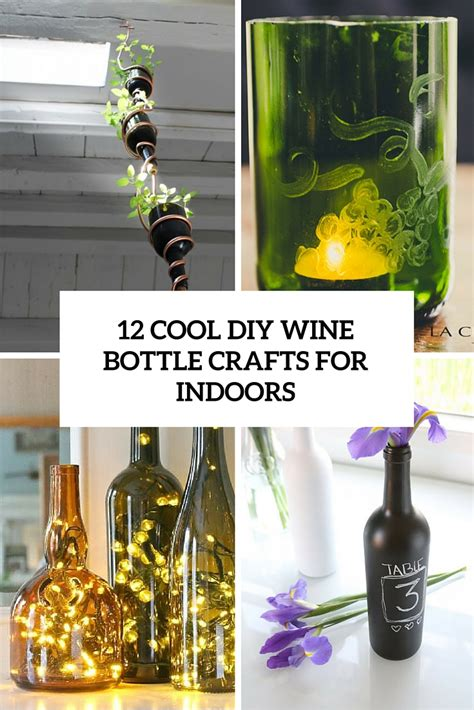 bottle wine crafts cool tutorials improve july coffee shelterness awesome pallets