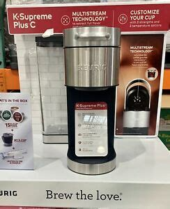 All of the issues i had with the other three has been resolved with this keurig. Keurig K-Supreme Plus C Single Serve Coffee Maker with 15 K-Cup Pods Water Filte | eBay