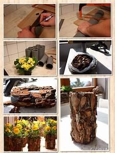 Naturholzplatte Mit Rinde : baumrinde rinde pinterest ~ Markanthonyermac.com Haus und Dekorationen
