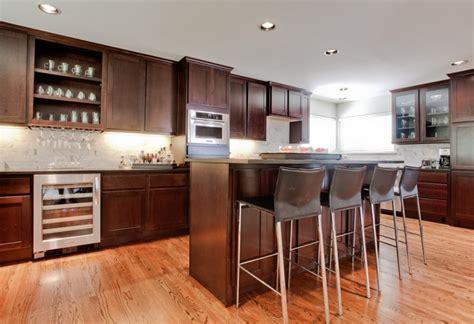 brown kitchen cabinet designs ideas design trends