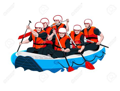 Rafting Boat Clipart by Rafting Boats Clipart Clipground