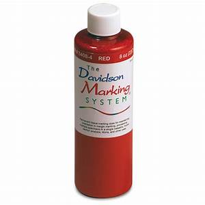 Davidson Marking Dyes Refill 8oz  Red