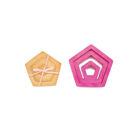 pentagon cookieicing cutter set