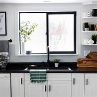 Black Painted Window Frames