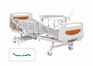 Icu Manual Double Crank Medical Equipment Hospital Beds