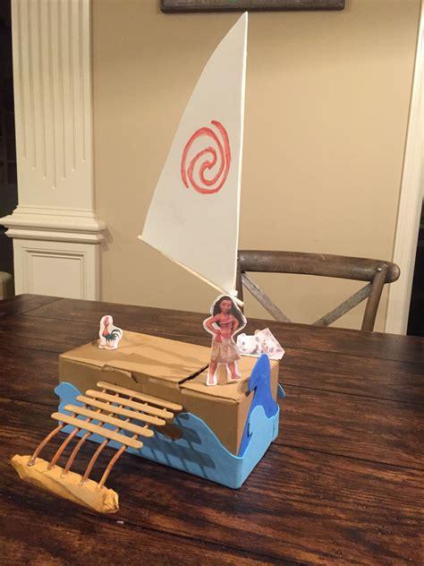 Moana Boat Au by Moana S Boat S Box Diy Boating