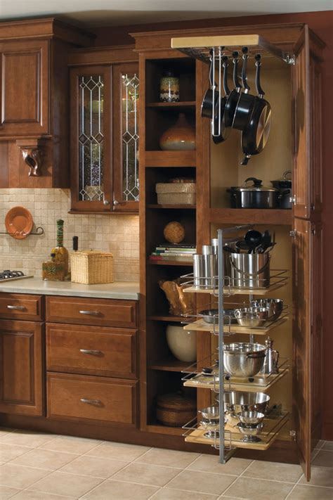 Utility Storage Cabinet with Pantry Pullout - Diamond