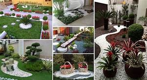 awesome decoration jardin avec galets 11 stunning With idee deco exterieur jardin 14 decoration salon couleur