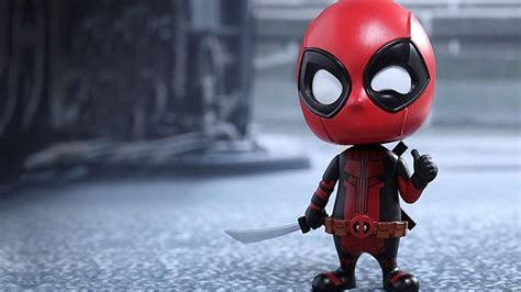 hot toys deadpool cosbaby vamers