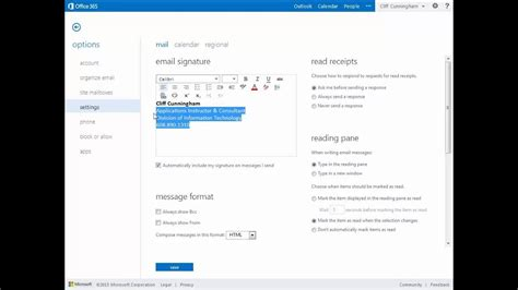 Office 365 Outlook Search by Outlook Web App Signature Driverlayer Search Engine