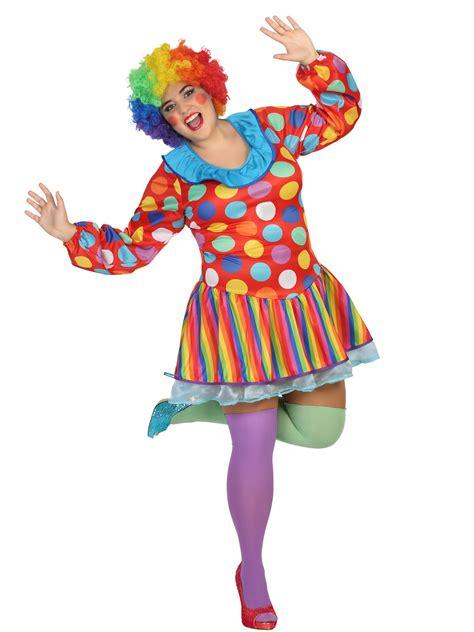 costume da clown  donna taglia grande costumi adultie