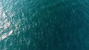 Aerial View Of Water Surface By Drone Stock Footage Video ...