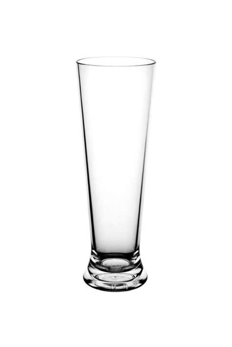 Premium Unbreakable Plastic Beer Flute (300ml)