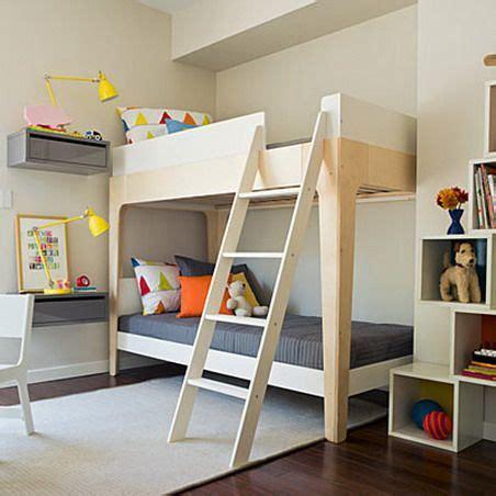 floating bedside tables  bunkbeds kid spaces