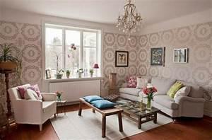 Tapeten Wohnzimmer Ideen 2014 : die perfekte wohnzimmer tapete wie sie die richtige farbe aussuchen ~ Bigdaddyawards.com Haus und Dekorationen