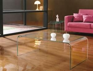 Table Basse En Verre Design Italien : table basse en verre tremp kare meubles pinterest mobilier de salon table basse et table ~ Melissatoandfro.com Idées de Décoration