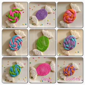 Candyland Cookies!! #candy cookies | pretty food | Pinterest