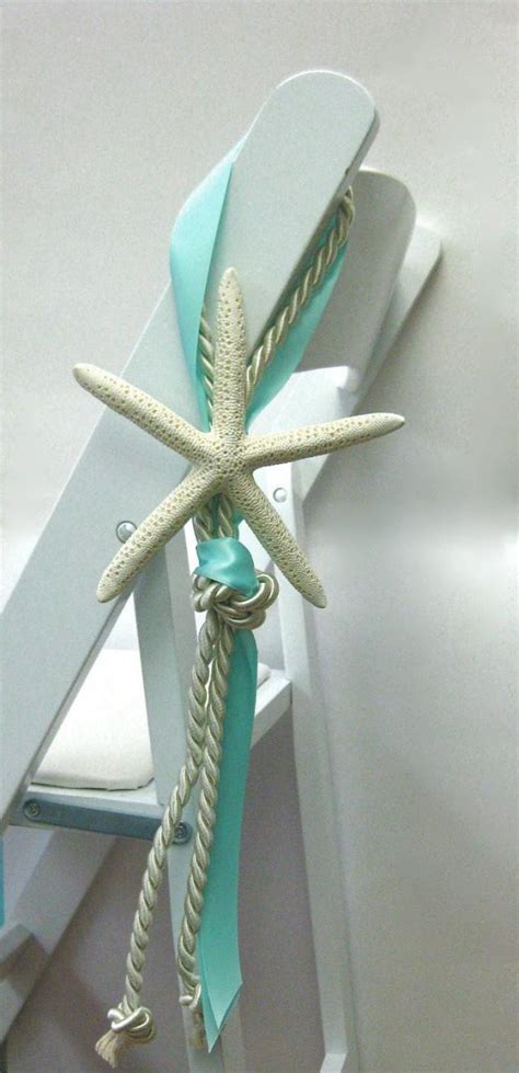 Beach Wedding Chair Decoration 14 Ribbon Colors